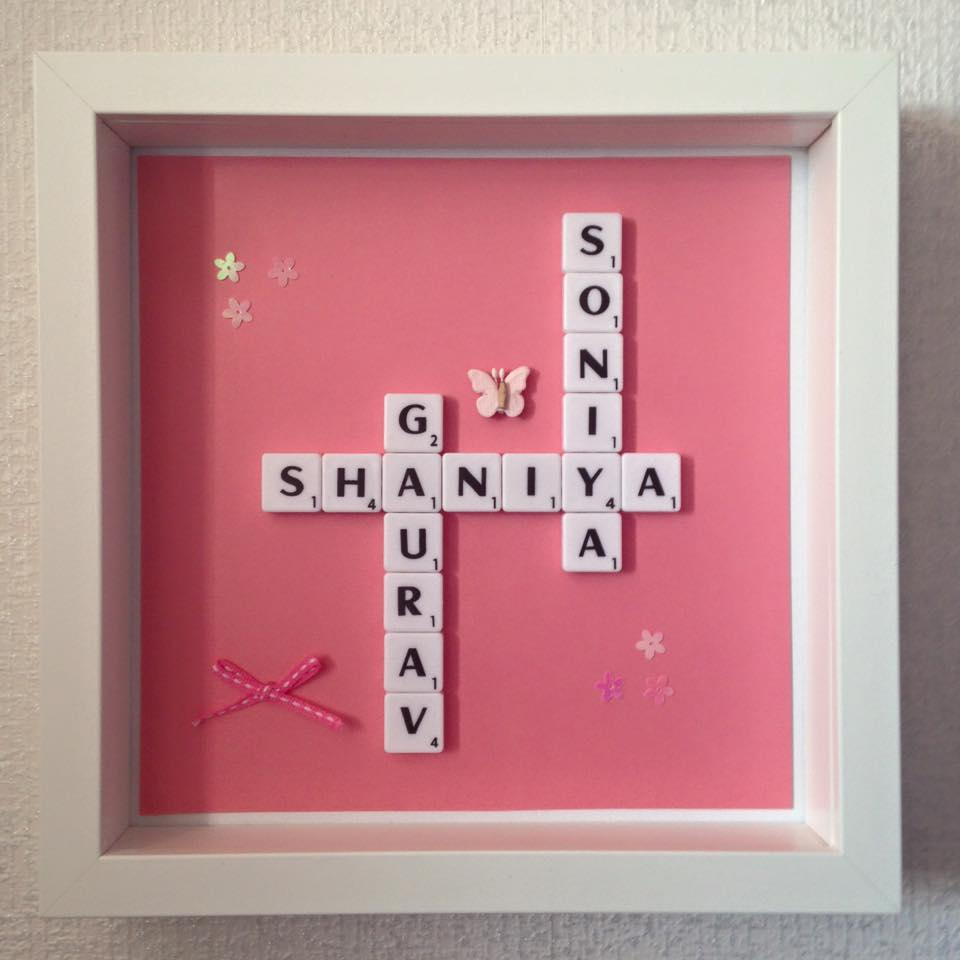 name in a frame family - Name Picture Frames