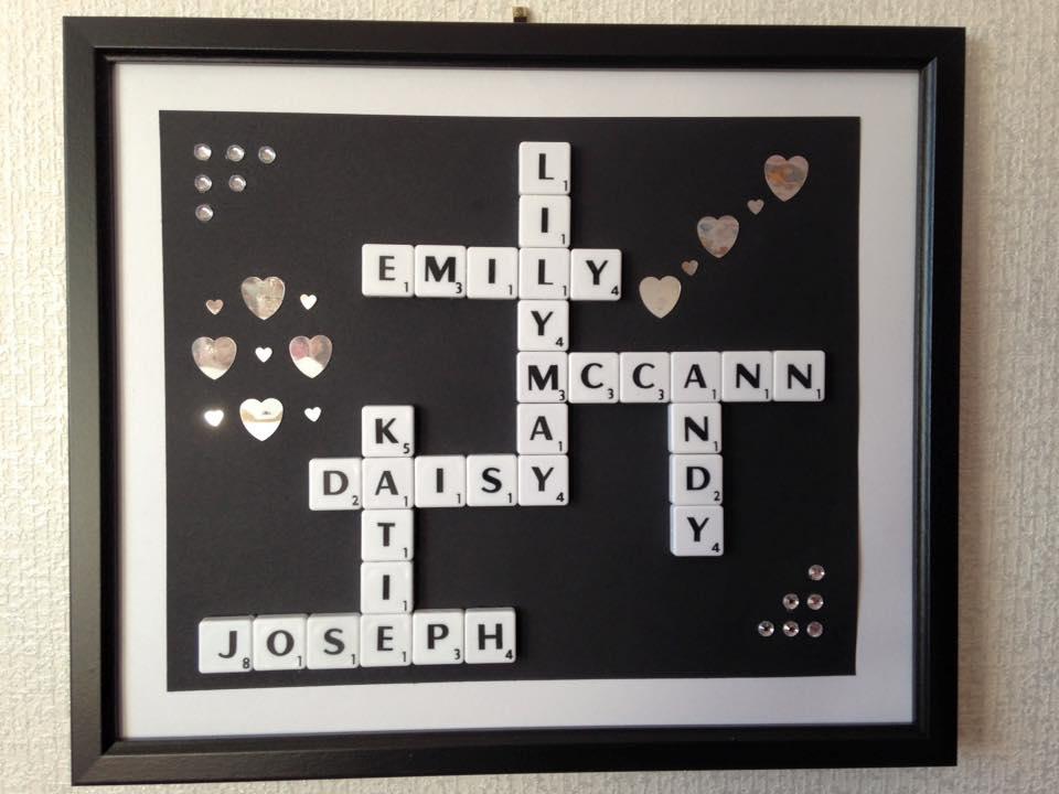 name in a frame family - Name Frames